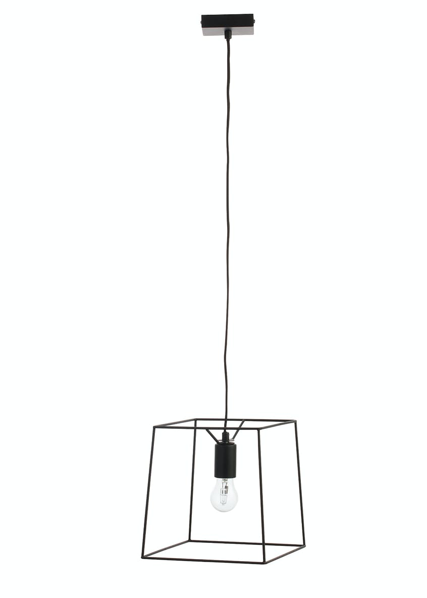 Nixon Square Pendant Light (W25cm x H100cm)