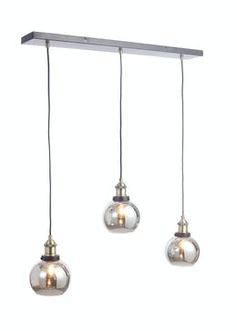 Callisto 3 Bulb Bar Cluster Light (H100cm x W80cm)