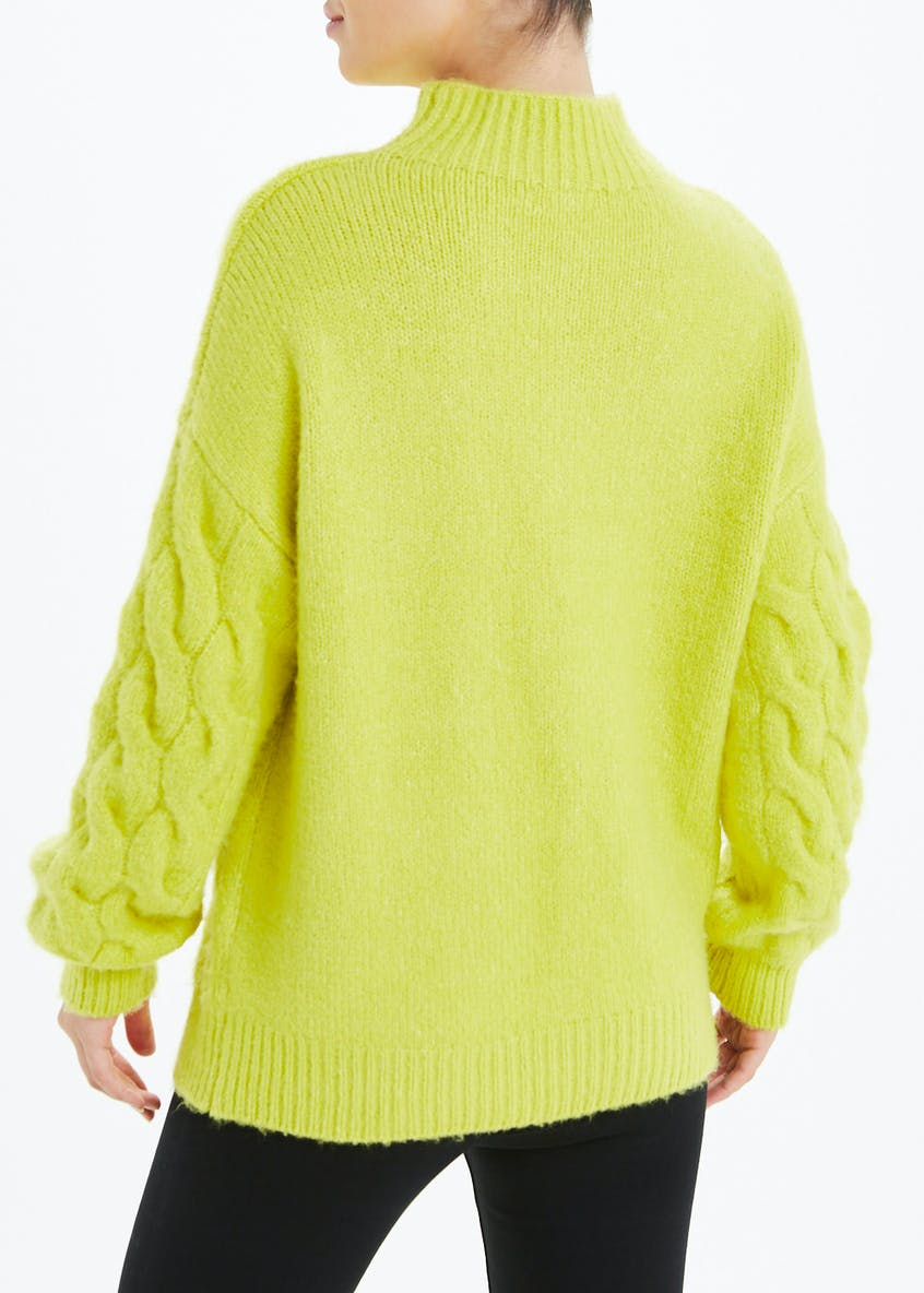 Funnel Neck Chunky Jumper