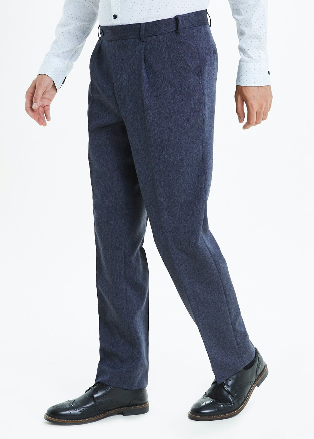 Taylor & Wright Regular Fit Donegal Trousers