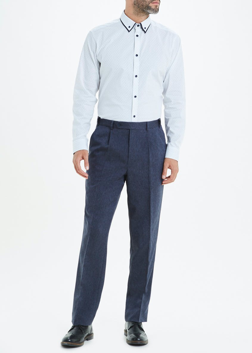 Regular Fit Donegal Trousers
