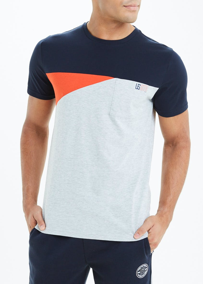 US Geo Panel Athletic T-Shirt
