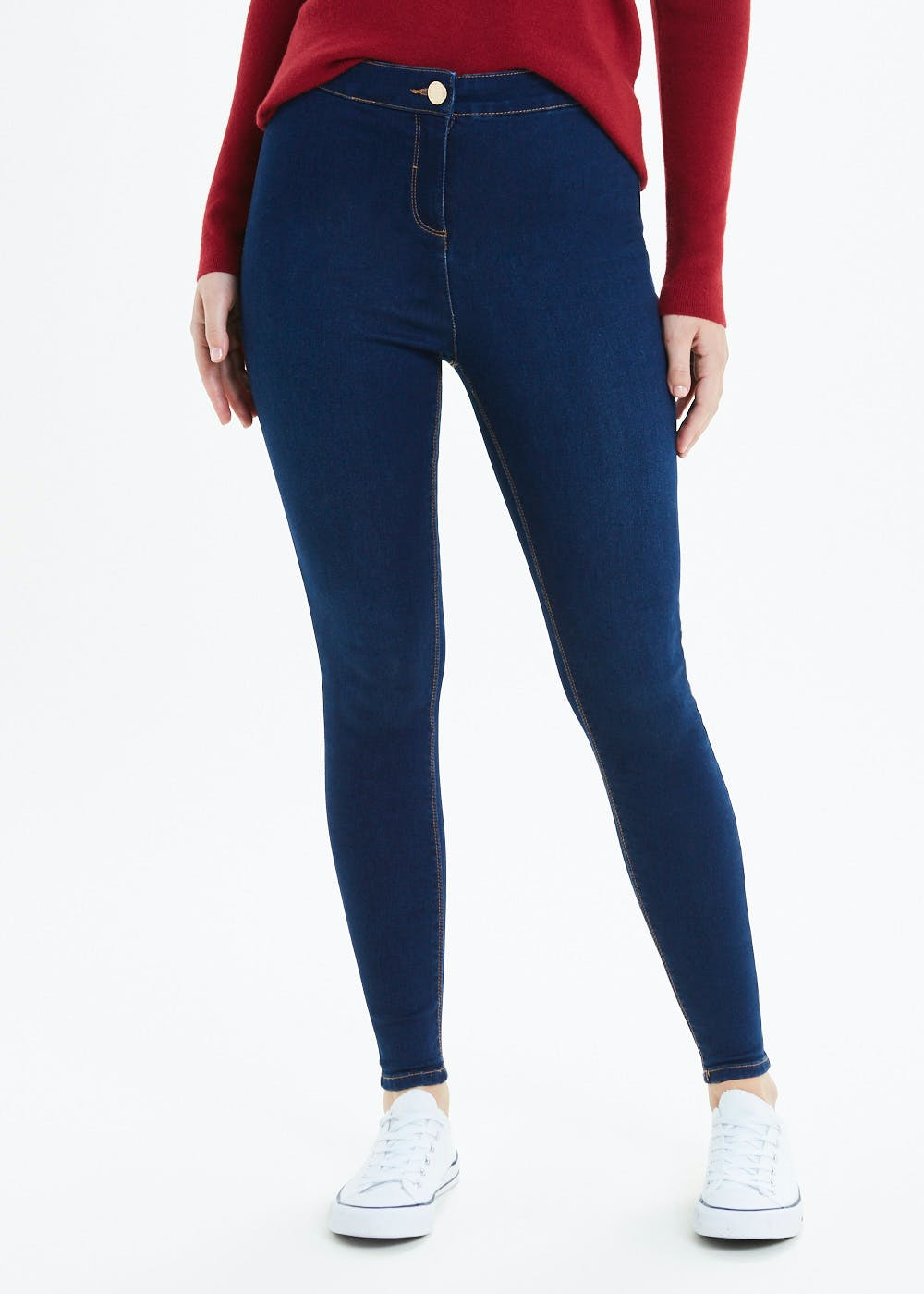 classic fit buying cheap many fashionable Jessie High Waisted Jeans – Blue – Matalan