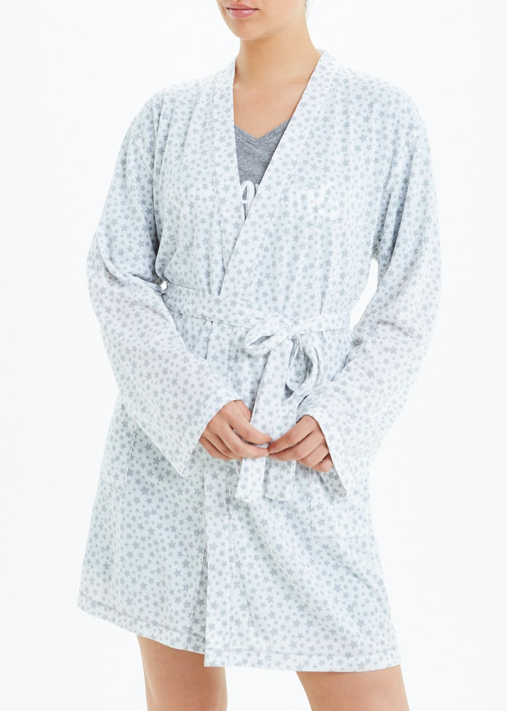 Star Print Dressing Gown by Matalan