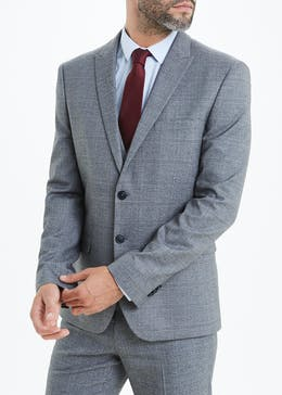 Taylor & Wright Rydal Skinny Fit Check Suit Jacket