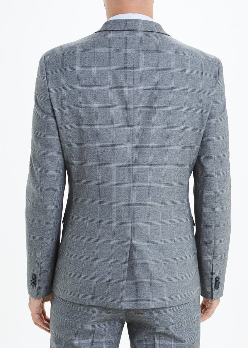 Rydal Skinny Fit Check Suit Jacket
