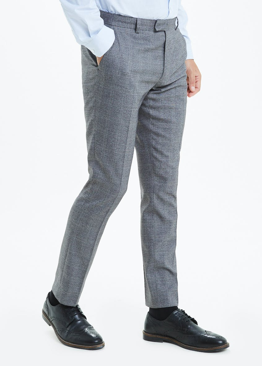 Taylor & Wright Rydal Skinny Fit Check Suit Trouser