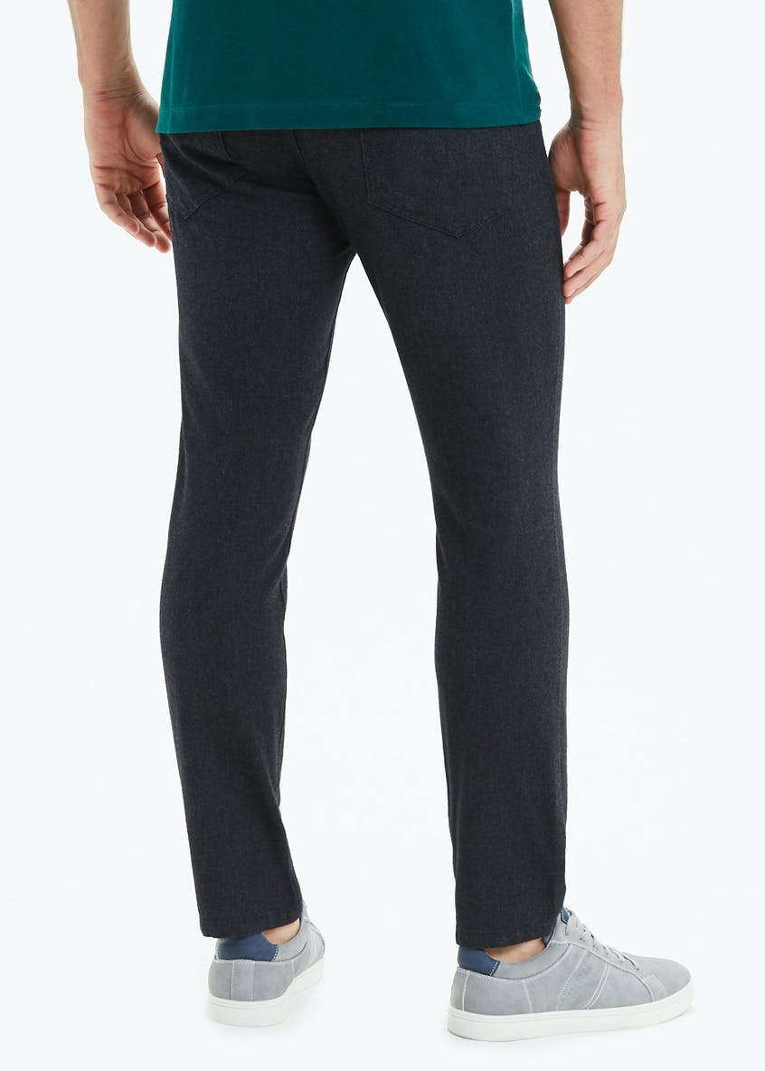 Easy Black Label Belted Trousers