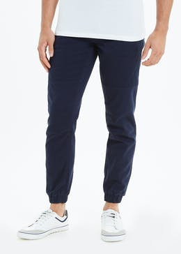 Cuffed Cargo Trousers