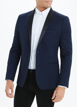 Slim Fit Jacquard Blazer