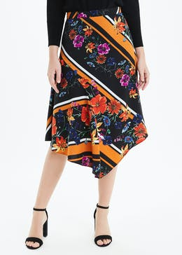 Soon Floral Midi Length Skirt