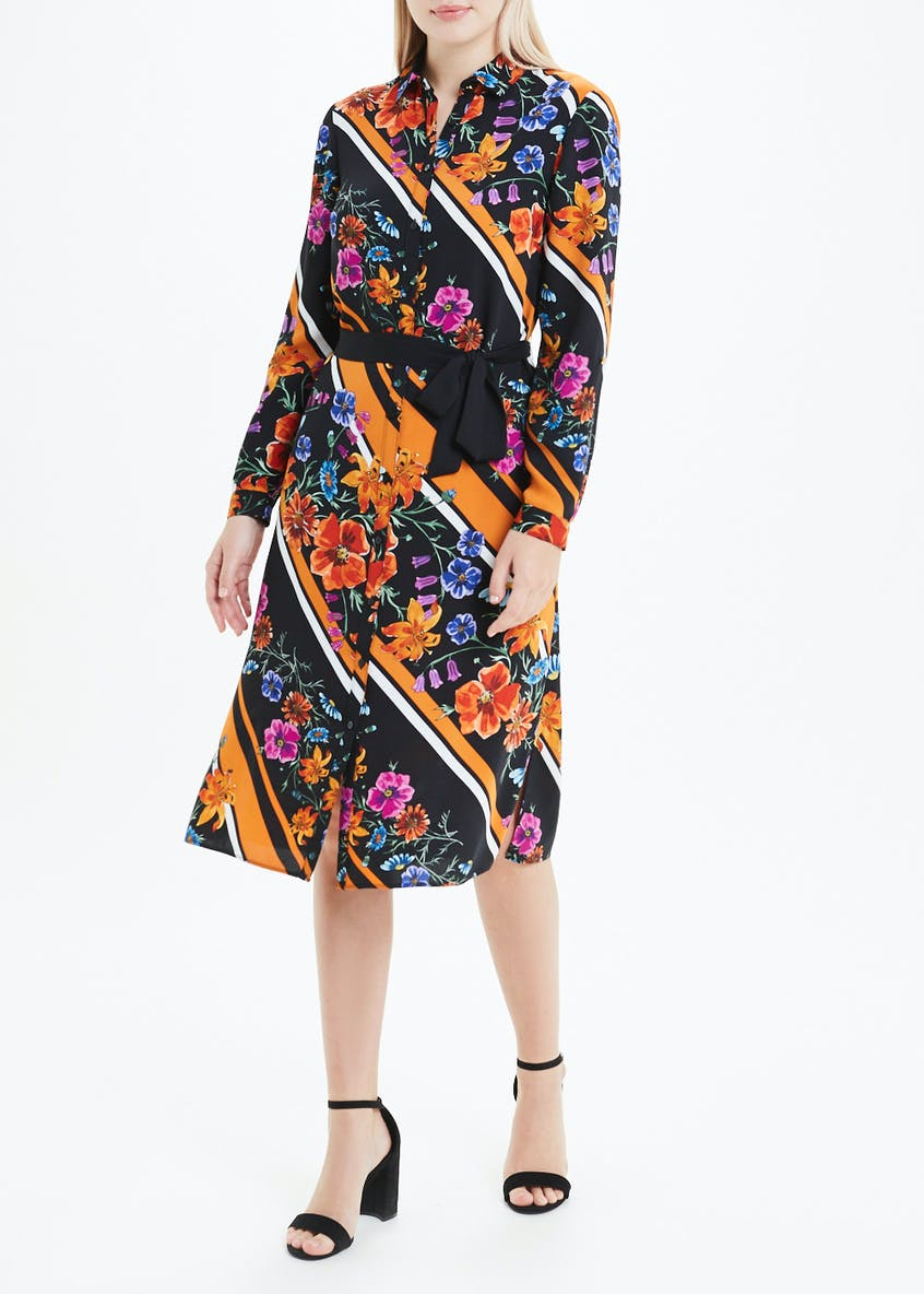 Soon Floral Shirt Dress