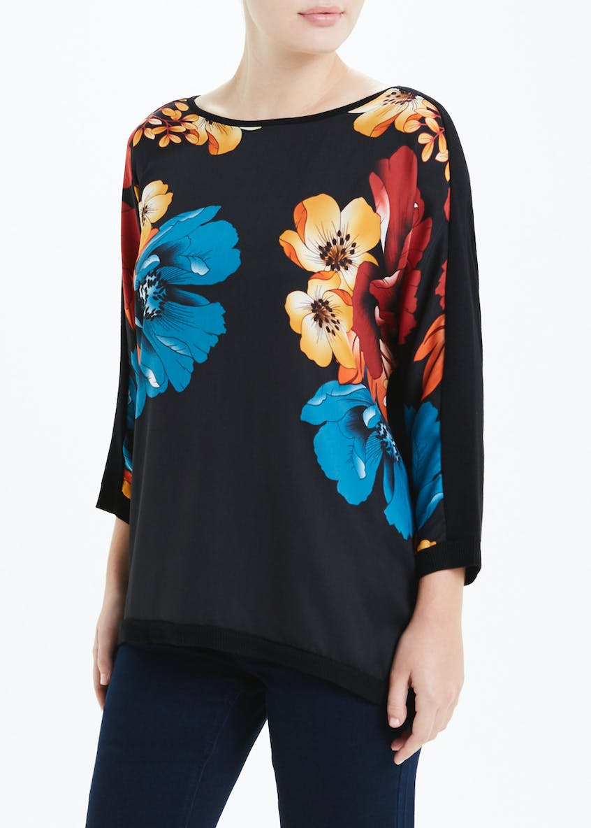 Soon Floral Batwing Jumper