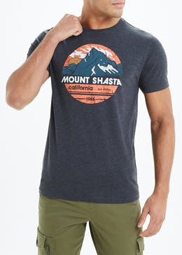 Mount Shasta Slogan T-Shirt