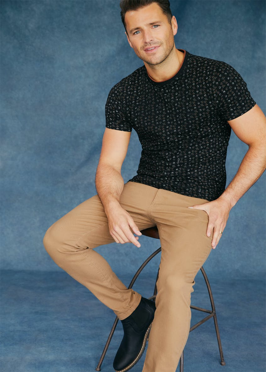 Easy Black Label Slim Fit Stretch Trousers