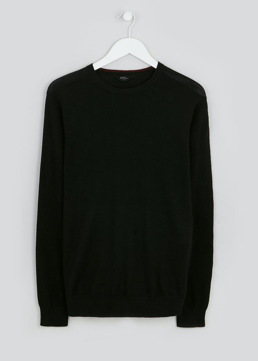 Easy Black Label 100% Merino Wool Jumper