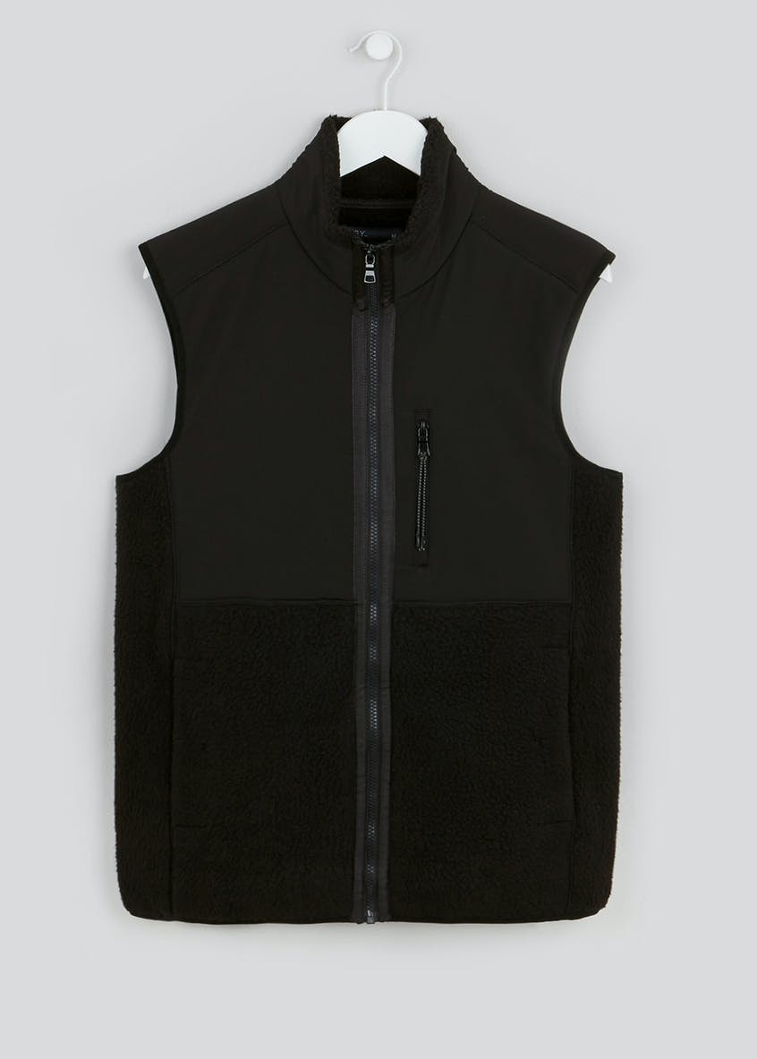 Zip Through Fleece Gilet