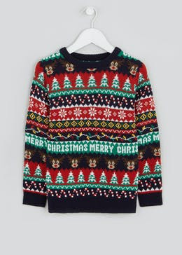 Boys Christmas Fair Isle Jumper (4-10yrs)