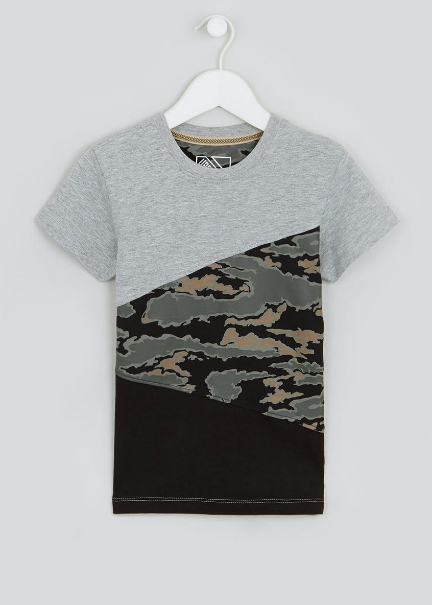 Boys Camo T-Shirt (4-13yrs)