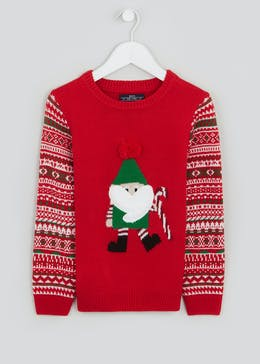 Boys Christmas Elf Jumper (4-10yrs)