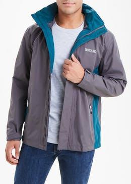 Regatta Grey Matt Waterproof Jacket