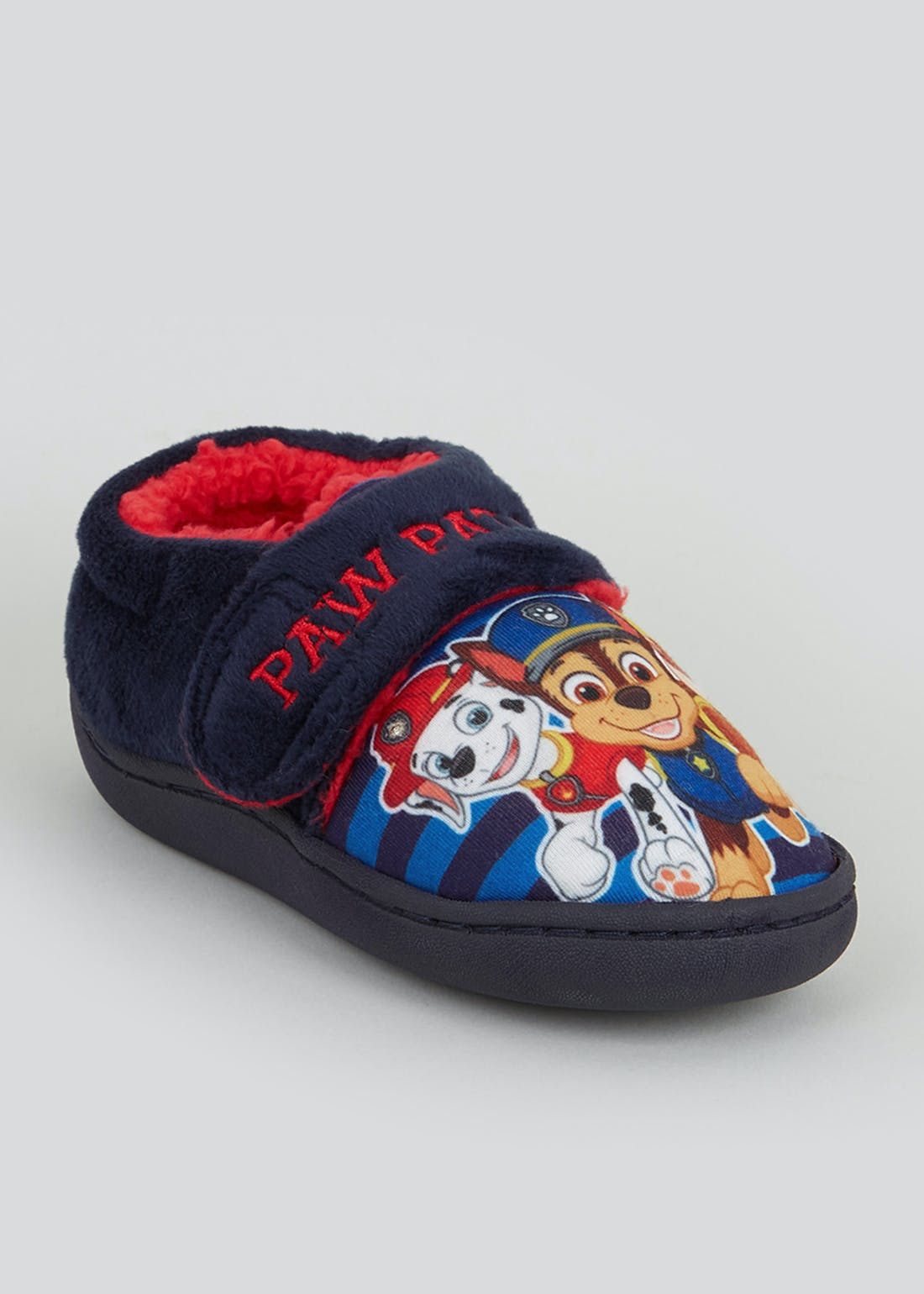 Kids Blue Paw Patrol Light Up Slippers (Younger 4-12)