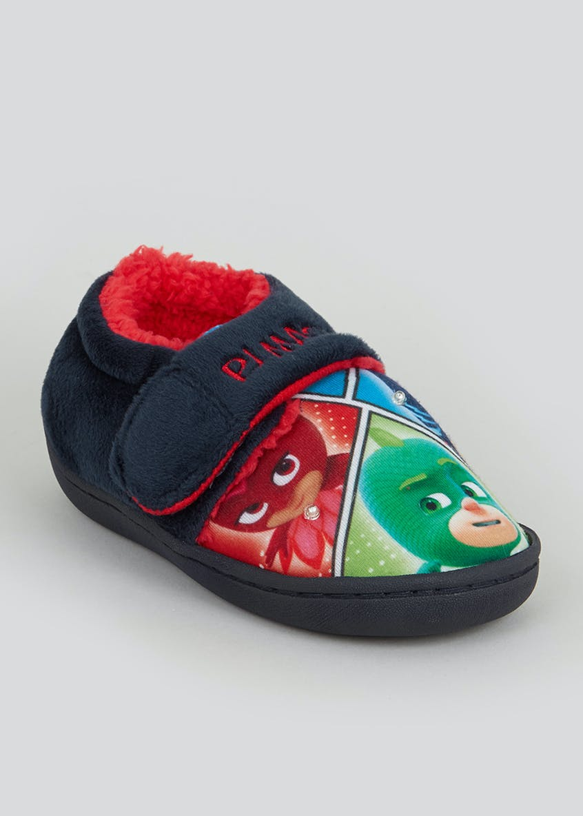 Kids Blue PJ Masks Slippers (Younger 4-12)