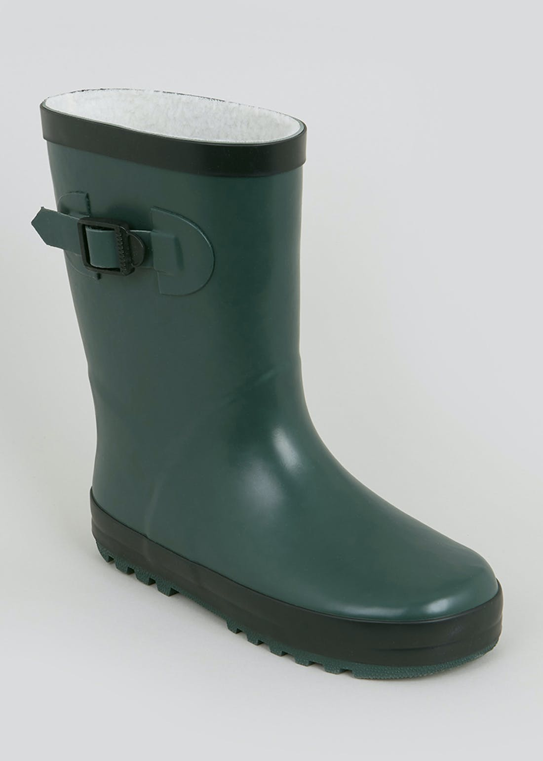 Kids Khaki Rubber Wellies (Younger 10-Older 6)