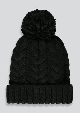 Kids Cable Knit Beanie (7-13yrs)