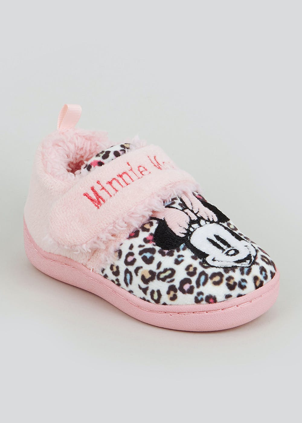 Kids Minnie Mouse Slippers (Younger 4-9