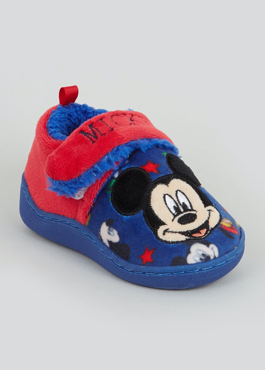 Kids Mickey Mouse Slippers (Younger 4-9)