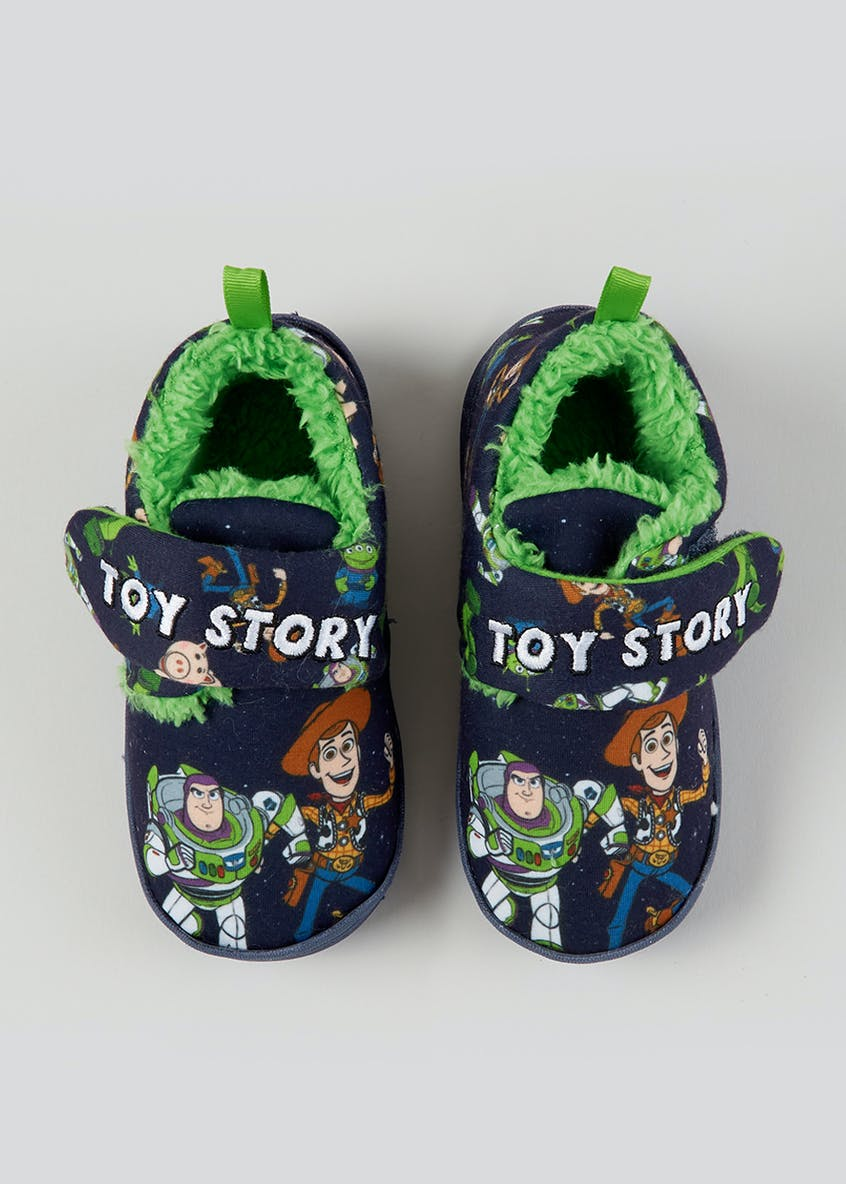 Kids Toy Story Co-Ord Slippers (Younger 4-12)