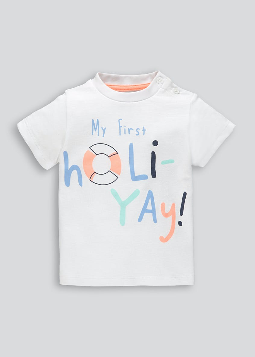 Unisex My First Holiday T-Shirt (Newborn-18mths)