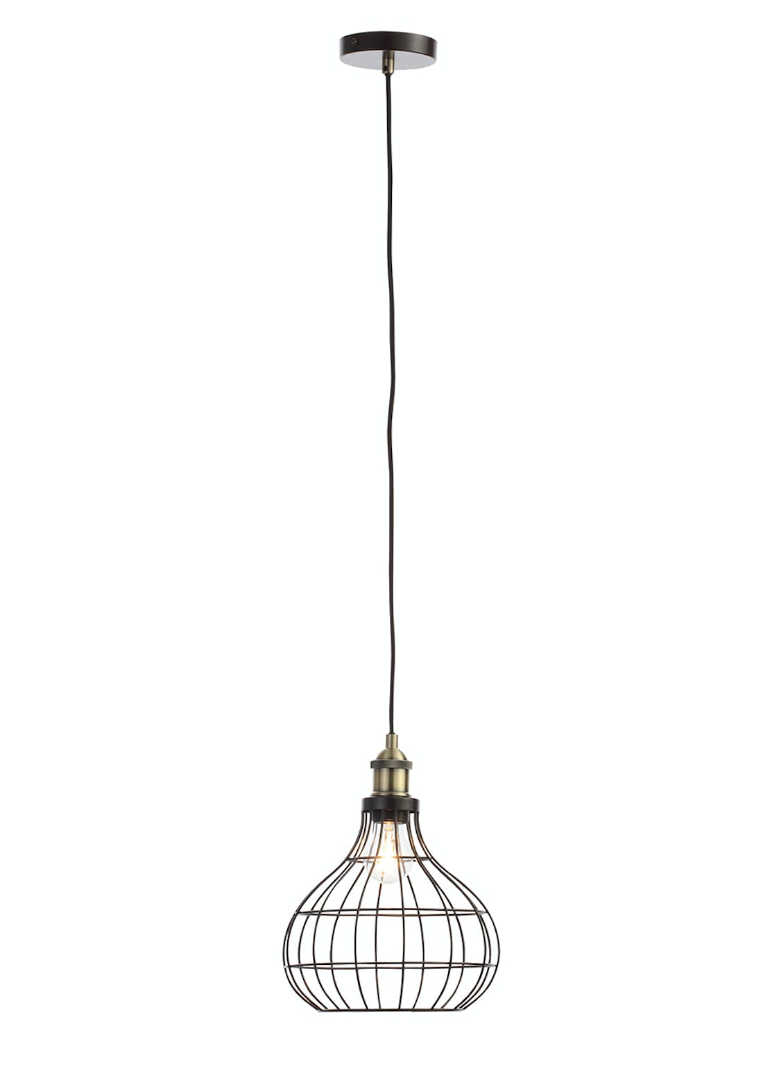 Callisto Wire Pendant Light (H270cm x W50cm)
