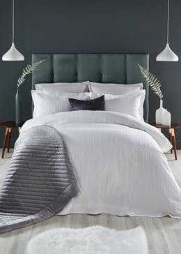 Farhi By Nicole Farhi 100% Cotton Geometric Duvet Cover