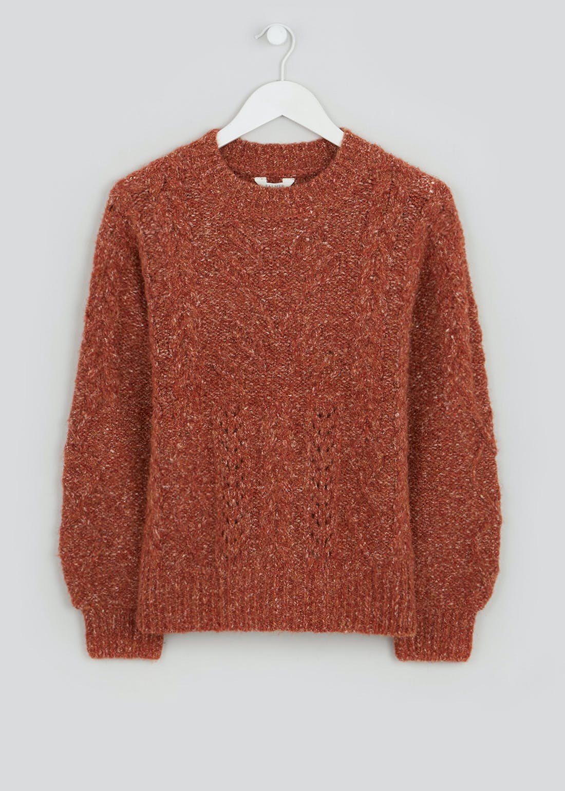 Falmer Chunky Cable Knit Jumper
