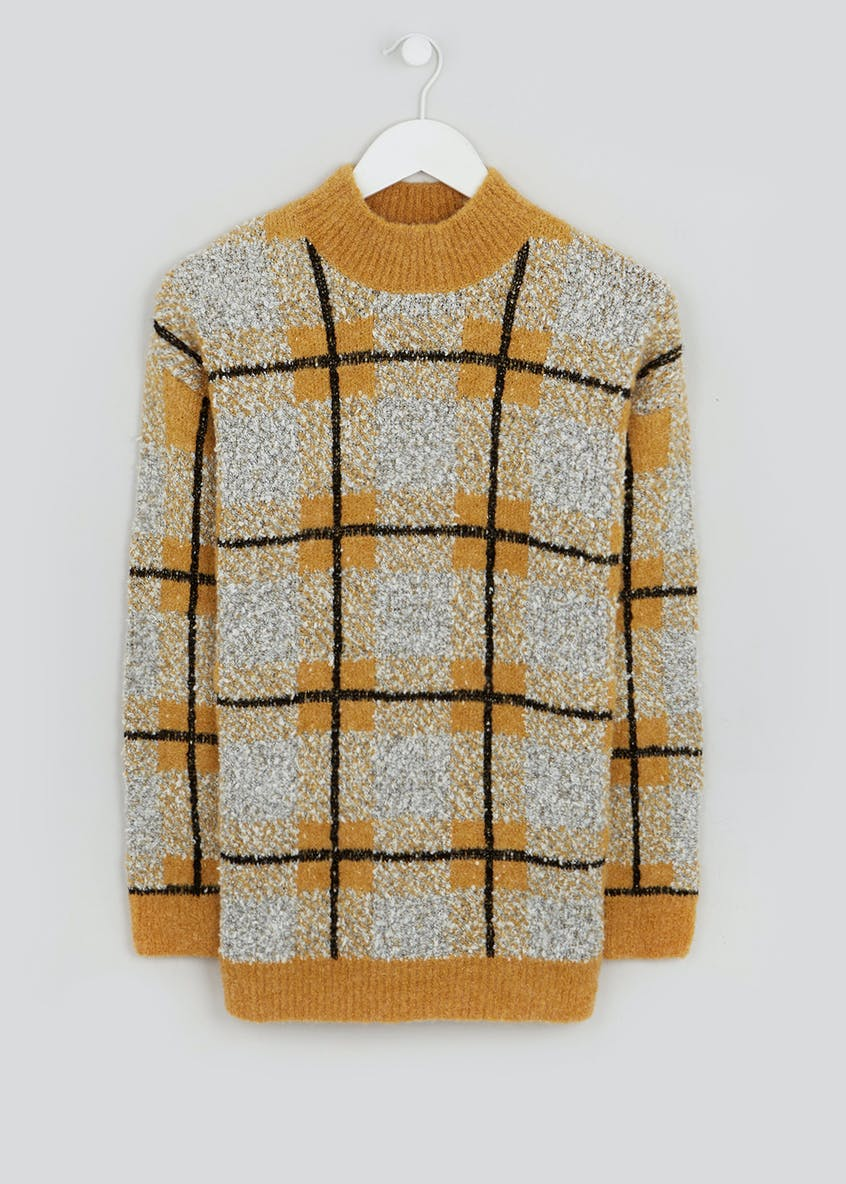Boucle Check Jumper
