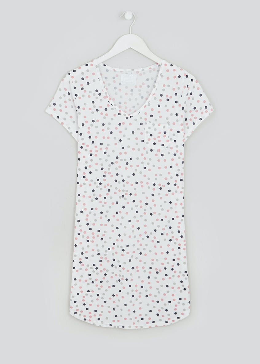 Polka Dot Pocket Nightie