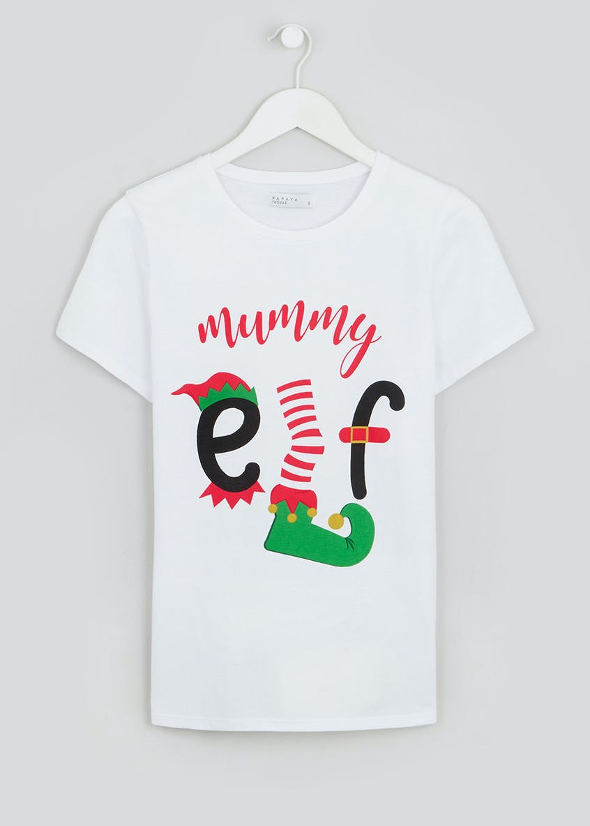 Mummy Elf Christmas T-Shirt