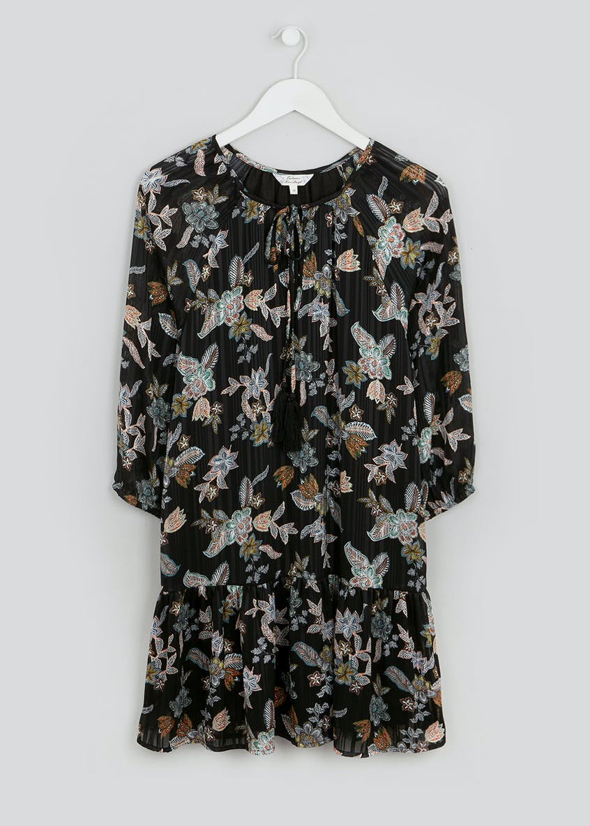 Falmer 3/4 Sleeve Floral Tunic Blouse