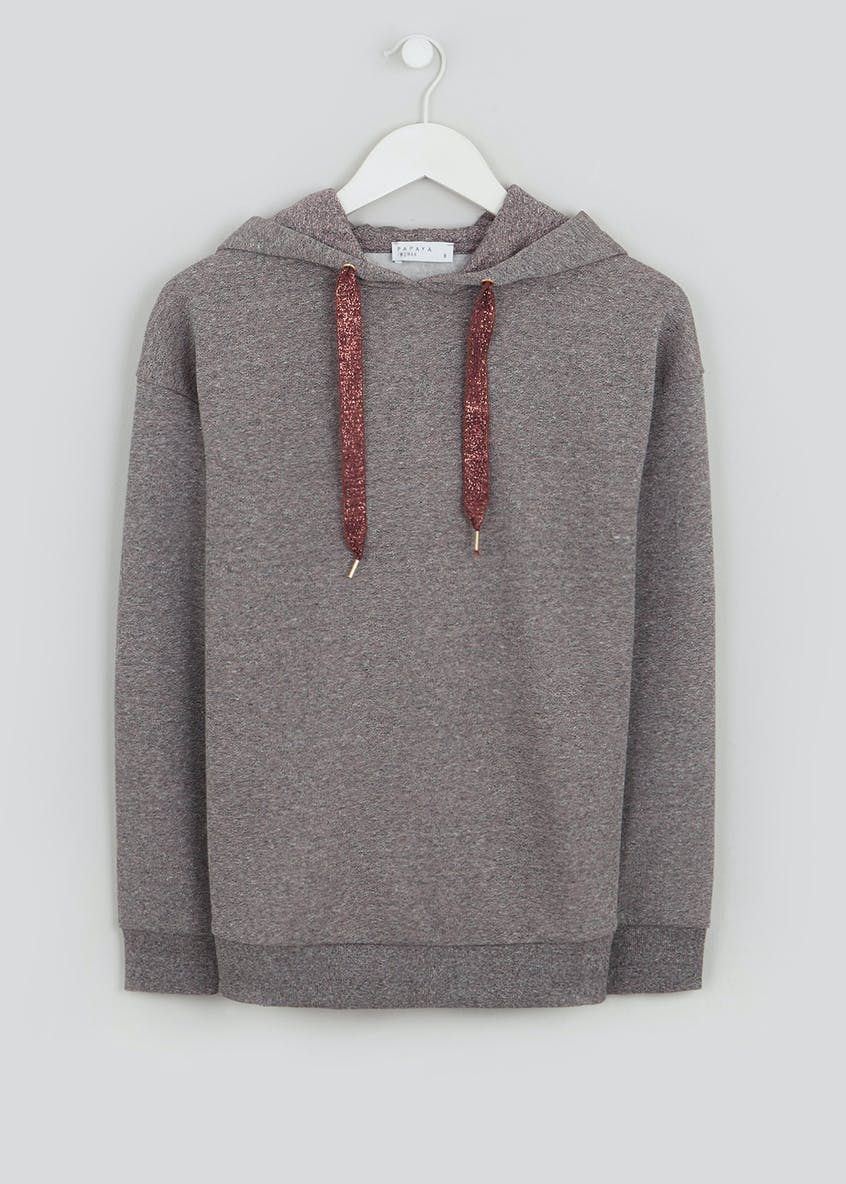 Falmer Sparkle Pull On Hoodie