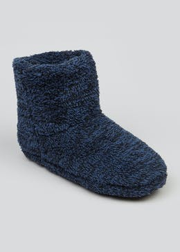 Fluffy Slipper Boots
