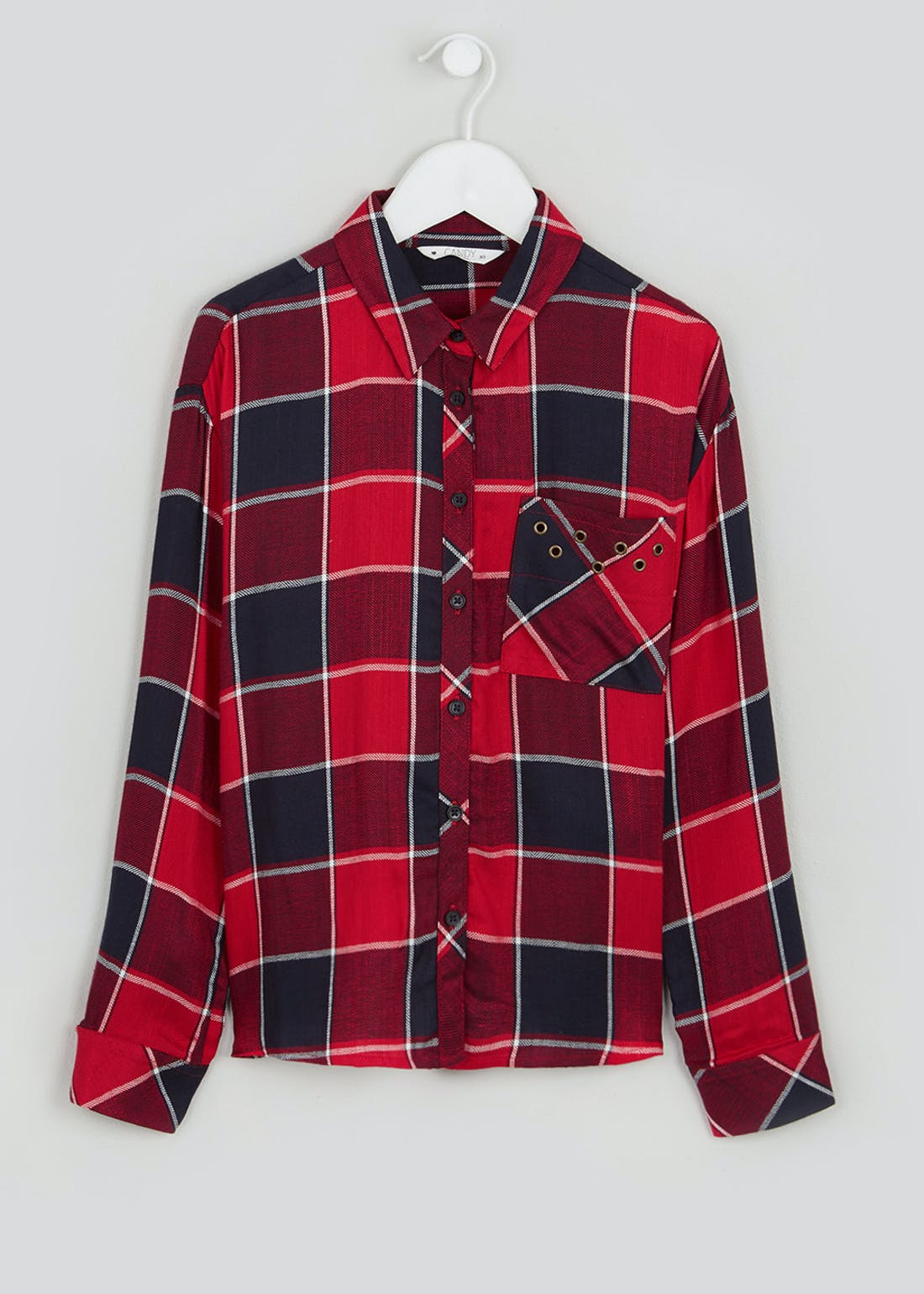 Girls Candy Couture Check Shirt (9-16yrs)