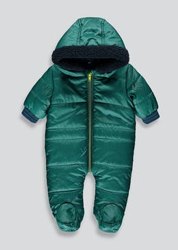 Padded Borg Snowsuit (Tiny Baby-18mths)