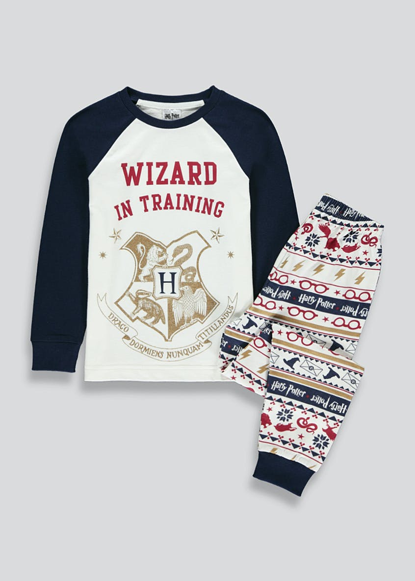 Kids Wizard In Training Harry Potter Pyjama Set (6-12yrs)