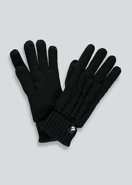 Heat Holders Cable Knit Thermal Gloves