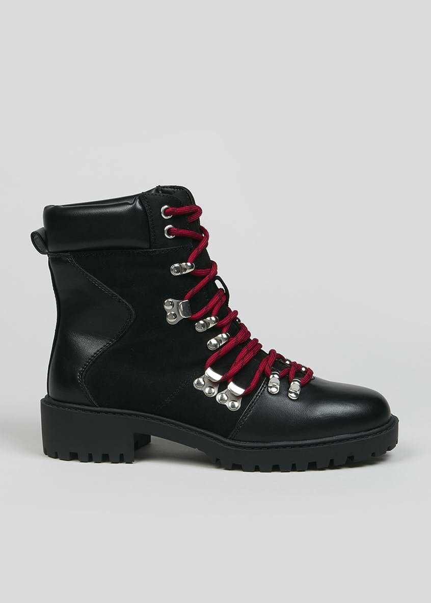 Chunky Hiker Boots