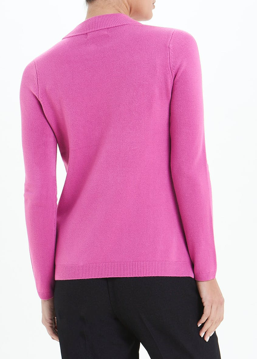 Super Soft Funnel Neck Jumper
