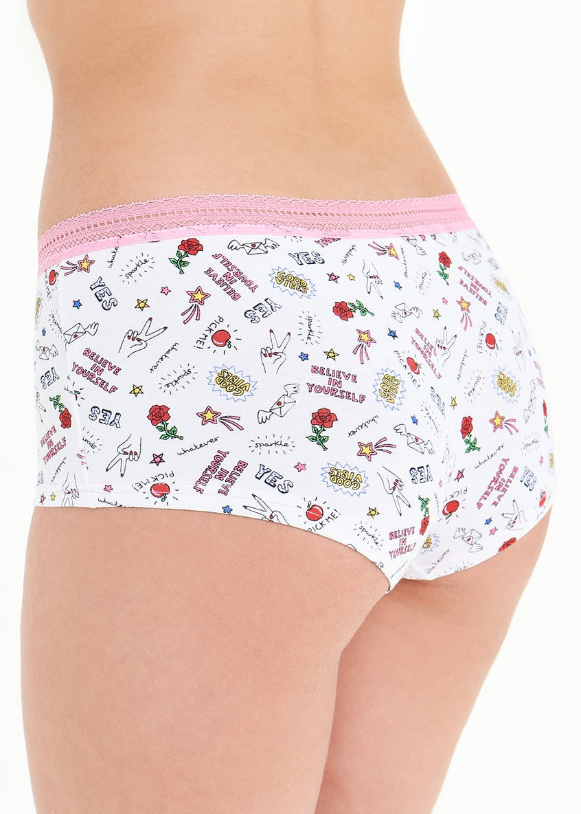 Believe In Yourself Boxer Knickers