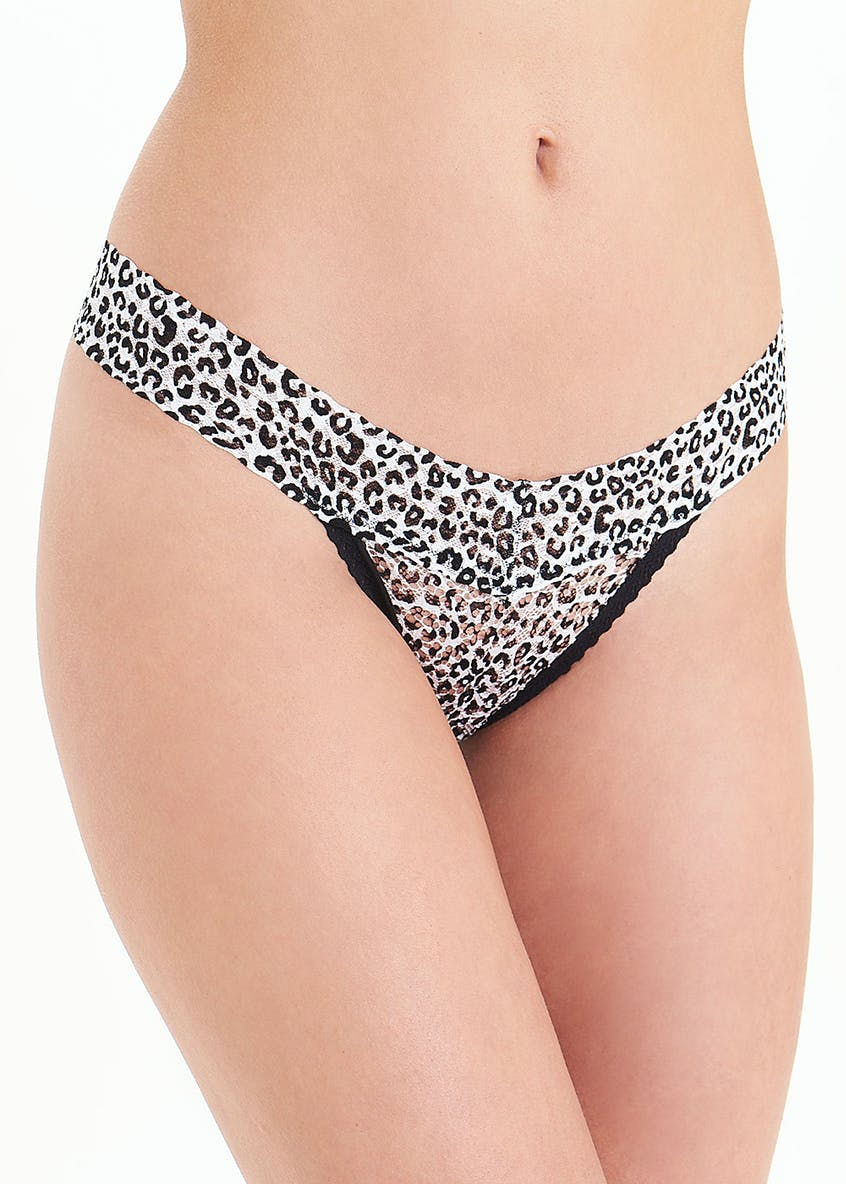 3 Pack Lace Thongs